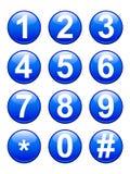 Boutons de numéros