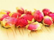 Boutons de rose secs photo libre de droits