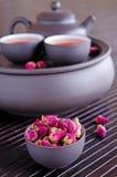 Boutons de rose secs Image libre de droits