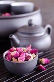 Boutons de rose secs Photo stock