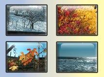 Boutons de saison Images libres de droits