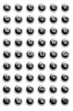 Boutons de site Web Photographie stock