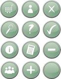 Boutons de système/commerce électronique de Web illustration libre de droits