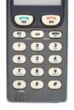 Boutons de téléphone Photo libre de droits