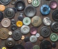 Boutons de vintage Photo stock