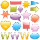 Boutons de Web Image libre de droits