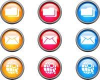 Boutons de Web. Photos libres de droits