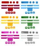 Boutons de Web illustration de vecteur