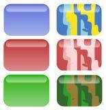 Boutons de Web Photographie stock