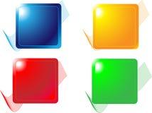 Boutons de Web Images libres de droits