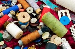 Boutons et amorçage Photo stock