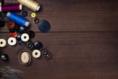 Boutons et pointeaux d'amorçages Photos stock