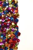 Boutons métalliques colorés d'isolement Images stock