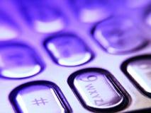Boutons mobiles Photographie stock libre de droits