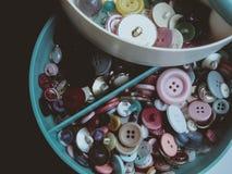 Boutons multicolores Photo libre de droits