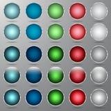 Boutons multicolores illustration de vecteur
