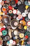 Boutons multicolores Photographie stock libre de droits