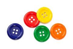 Boutons multicolores Images libres de droits