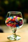 Boutons multicolores lumineux Image libre de droits