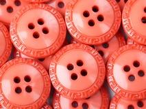 Boutons oranges Images libres de droits