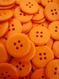 Boutons oranges Photo stock