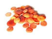 Boutons oranges Images stock