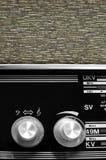 Boutons par radio de cru Image stock