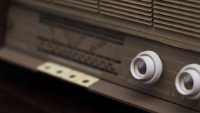Boutons radios de vintage Images libres de droits