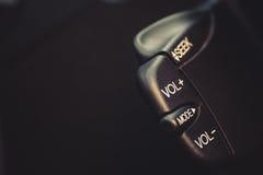 Boutons radios de voiture Photo stock