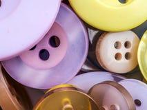 Boutons ronds d'habillement Image libre de droits