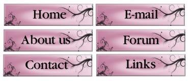 Boutons roses illustration libre de droits