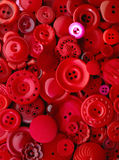 Boutons rouges image stock
