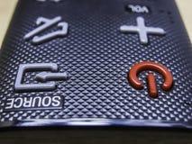 boutons sur l'à télécommande photo stock