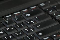 Boutons sur le clavier Image stock