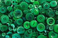 Boutons verts Image libre de droits