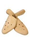 Bouts de chaussure Images libres de droits