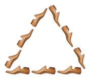 Bouts de chaussure Photographie stock