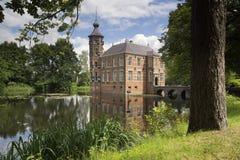 Bouvigne slott nära Breda royaltyfria foton