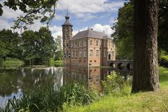 Bouvignekasteel dichtbij Breda royalty-vrije stock foto's