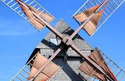 bouville francuza młyn blisko pelard uskrzydla drewnianego Fotografia Stock