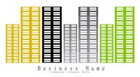 Bouw Bedrijf stock illustratie
