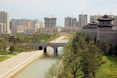 Bouw in China Stock Afbeelding