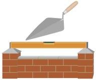 Bouw een muur Vector Illustratie