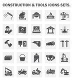 Bouw en hulpmiddelenpictogram Stock Afbeelding