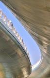 Bouw en structuur van viaductbrug Stock Fotografie