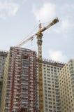 Bouw flatgebouw Royalty-vrije Stock Foto