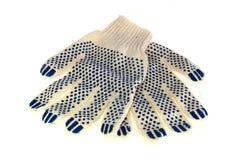 Bouw handschoenen Royalty-vrije Stock Foto