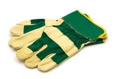 Bouw handschoenen Royalty-vrije Stock Afbeeldingen