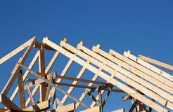 Bouw het dak Royalty-vrije Stock Afbeeldingen