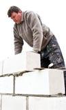 Bouw nieuw huis Stock Fotografie